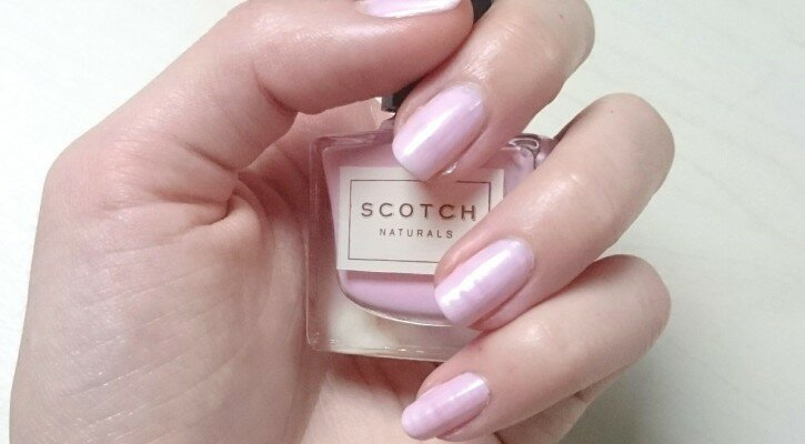 swatch vernis eau scotch naturals